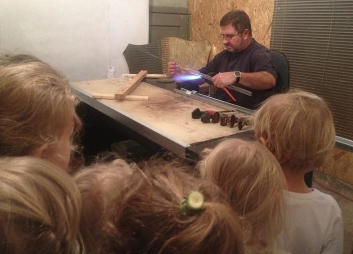 fabryka bąbek wycieczka przedszkola montessori